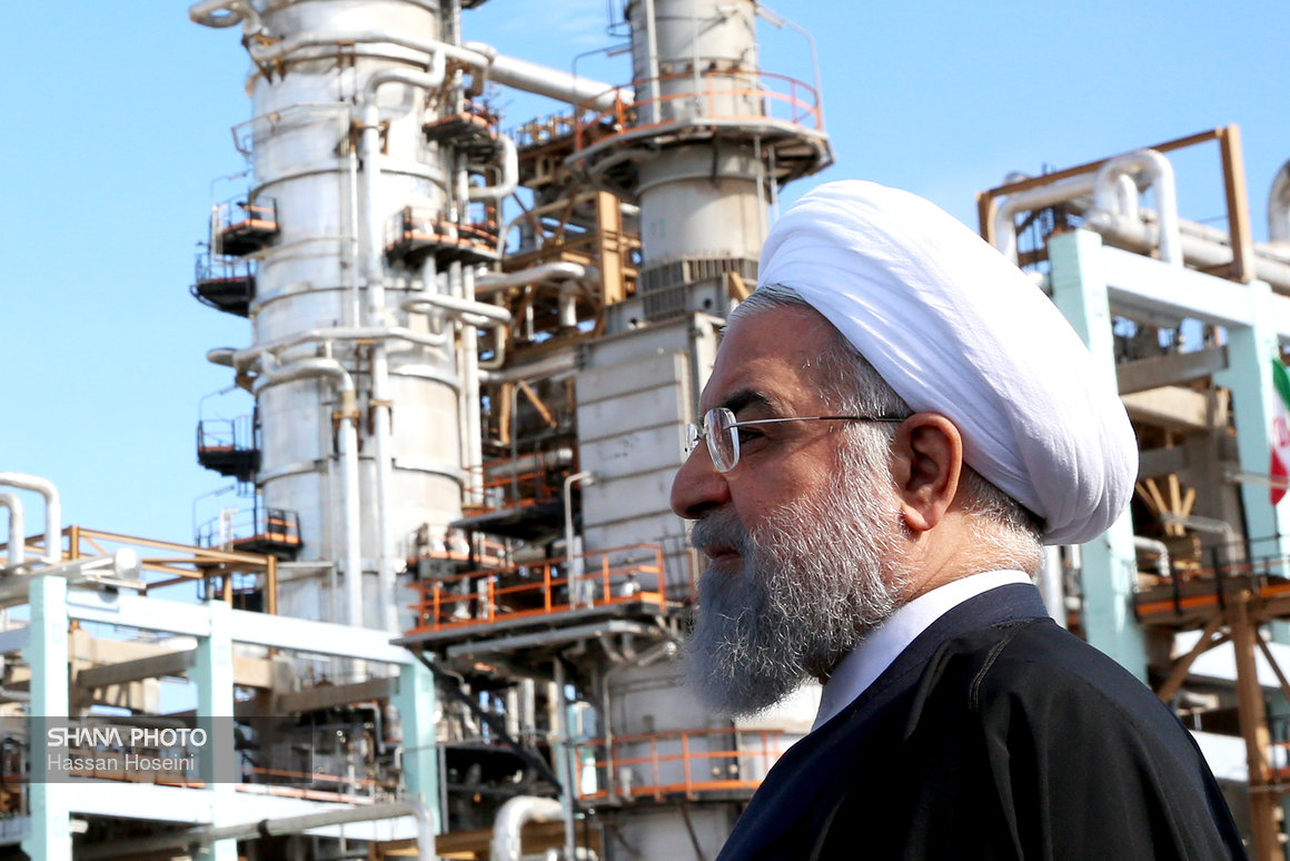 President Rouhani Launches Phase III of Persian Gulf Refinery