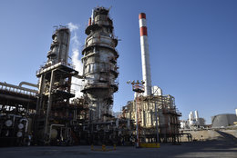 Sulfur Granulation Unit of Isfahan Refinery Operational