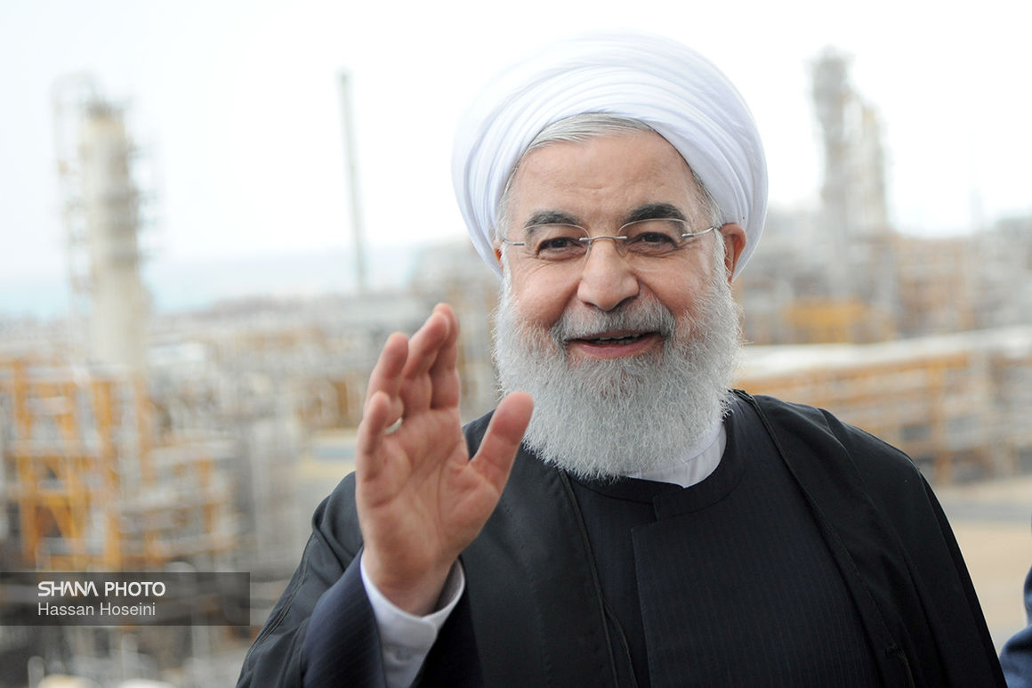 Iran Progress Continuing despite Sanctions: Rouhani