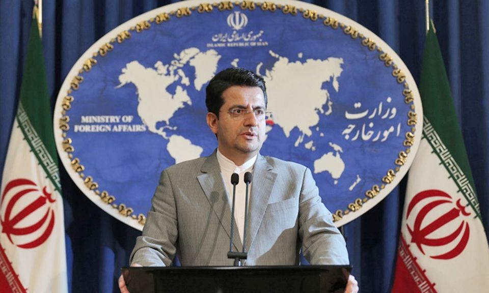 Tehran Continues Legal, Political Measures until Release of Iranian Tanker: Spokesman