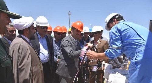 Iran Launches Largest Gas Collection Center in Sarakhs