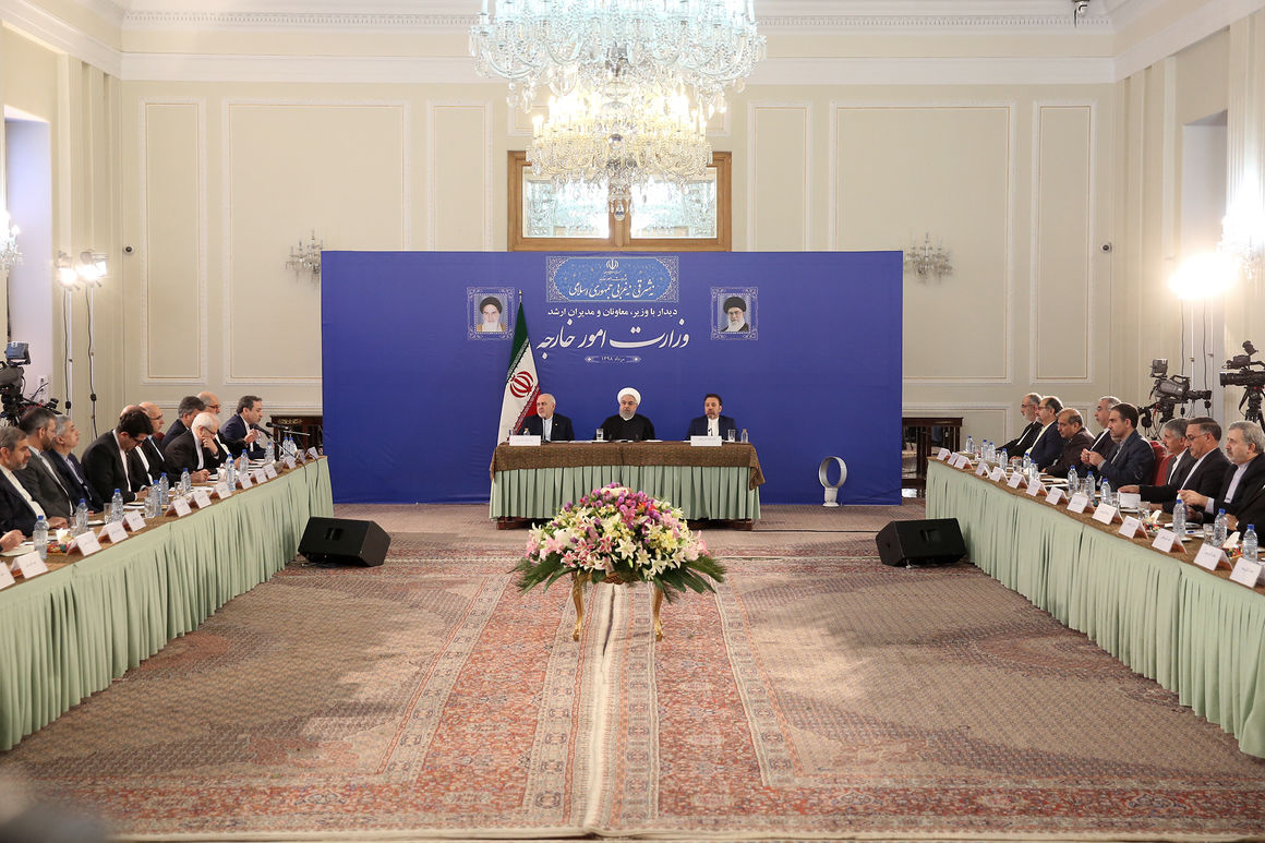 Peace with Iran: Mother of all Peaces: Rouhani