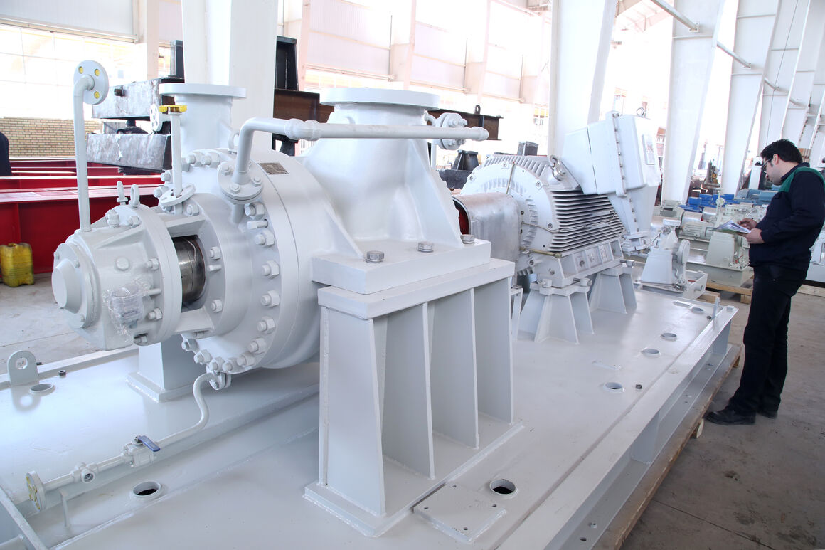 Iran Firm Plans for Mass-Production of Multiphase Pumps