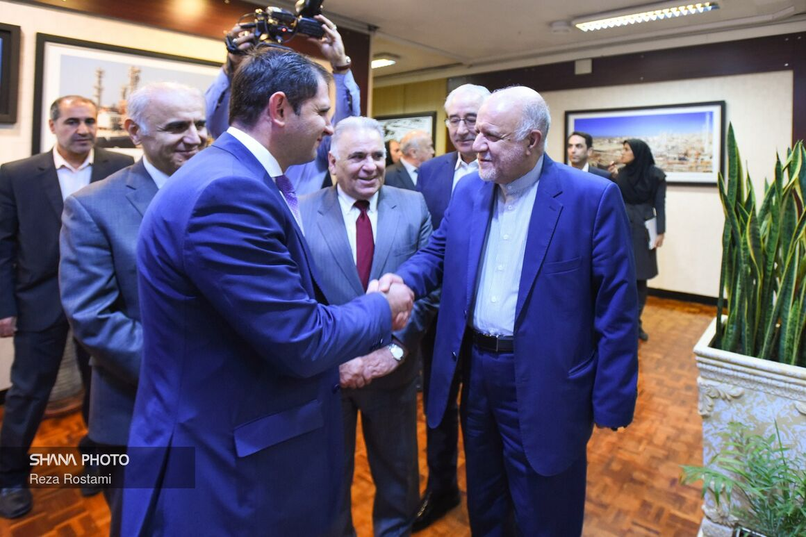 Zangeneh Receives Armenian Minister
