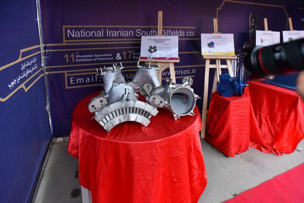 NISOC Displays List of Needed Items for Domestic Manufacturing