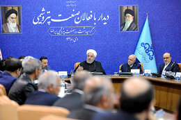 Petchem Industry at Forefront of Non-Oil Export Earnings: Rouhani