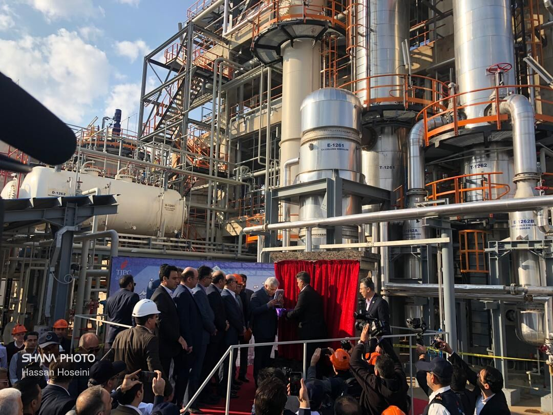 Phase 2 of Takht Jamshid Petchem Plant Operational