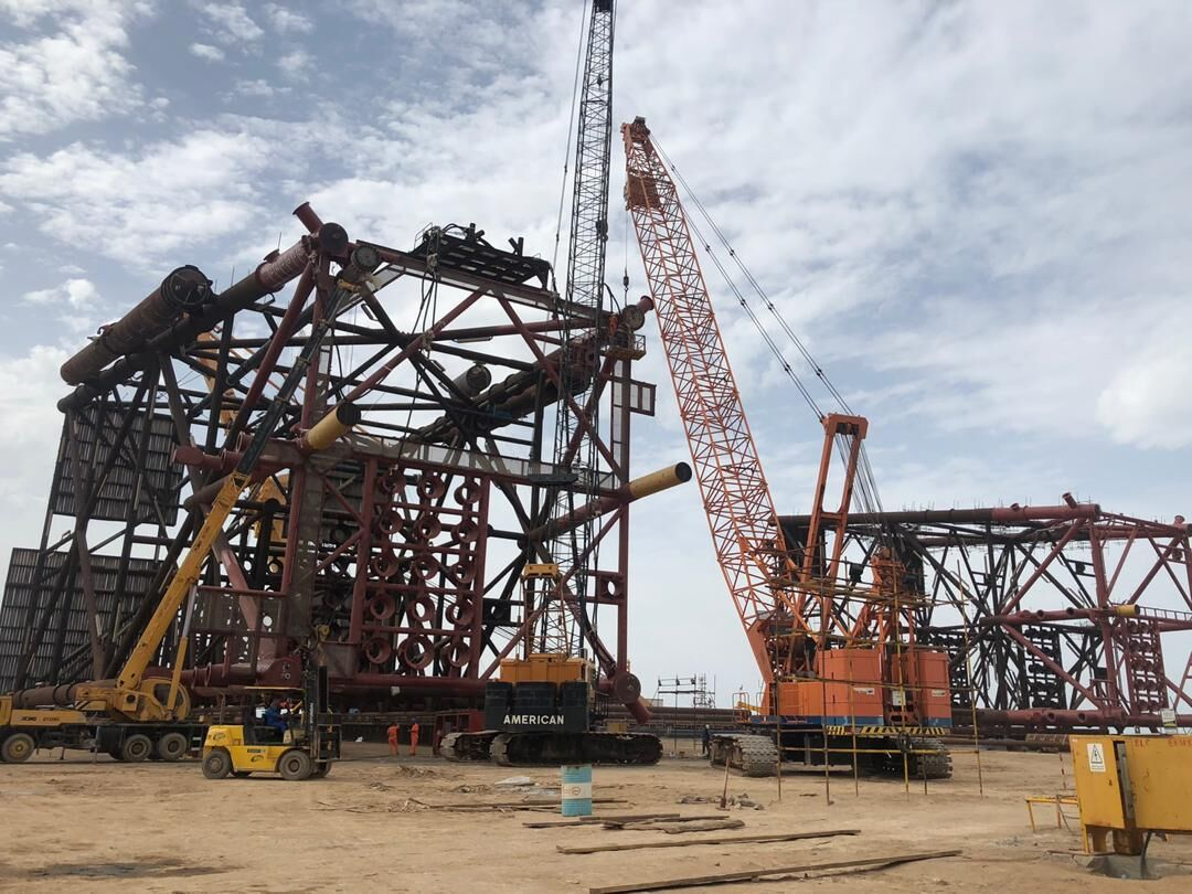 Installation of South Pars Platform 11B Complete by June