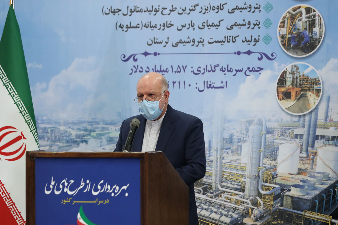 Iran to Launch 27 Petchem Projects by 2021