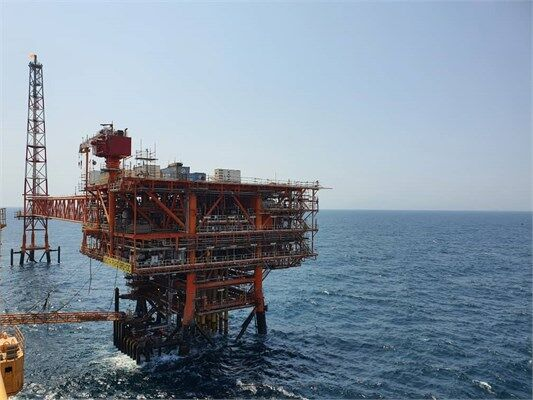 Gas Production Begins at 3rd Phase 13 Platform
