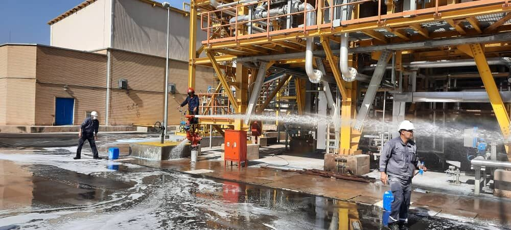 Fire Contained in Ilam Petrochemical Plant