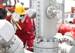 Repair, Fishing Operations of 2 Maroon Wells Carried out Without Rig